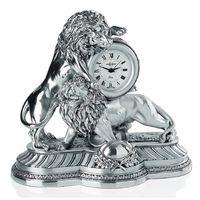 Настольные часы Играющие львы