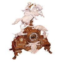 Настольные часы Охота на кабана