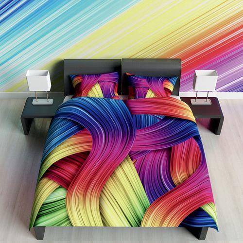 Постельное белье Цветные локоны