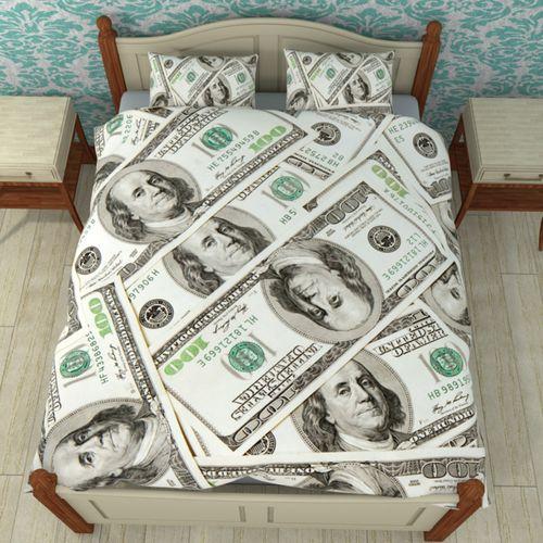 Постельное белье Доллары