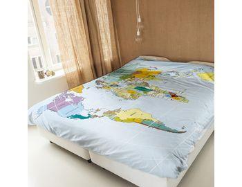 Постельное белье Карта мира