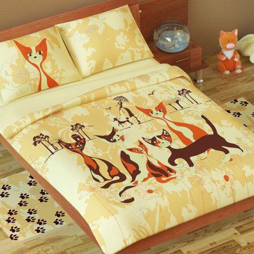 Постельное белье Кошки