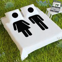 Постельное белье Мужчина и Женщина
