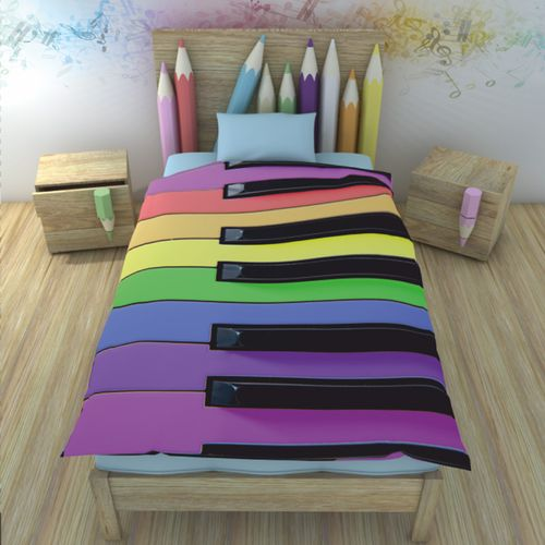 Постельное белье Музыкальная радуга