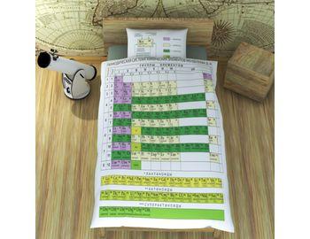 Постельное белье Таблица Менделеева