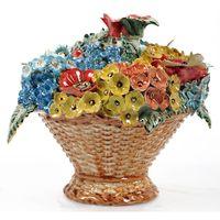 Штоф Корзина цветов