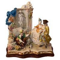 Статуэтка Цветочница у фонтана