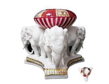 Статуэтка пепельница Три слона