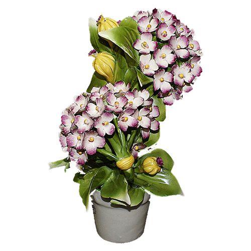 Статуэтка декоративное растение Гортензия